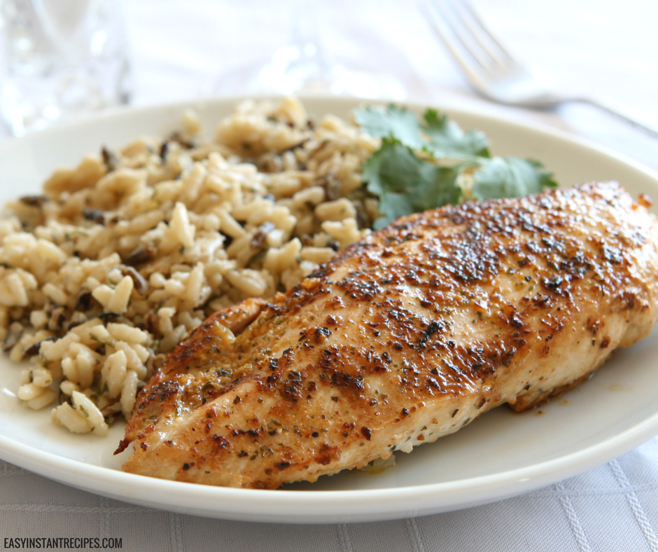 Instant Pot Garlic Herb Chicken