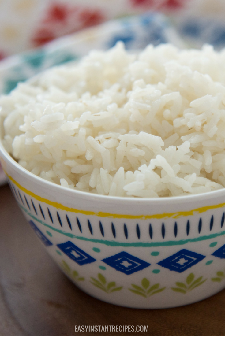Easy Instant Pot Rice Easy Instant Recipes