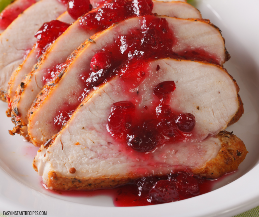 Instant Pot Turkey Breast Tenderloin